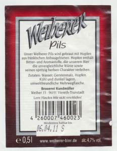 Weiherer Pils