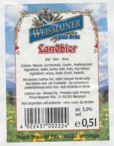 Weismainer Landbier