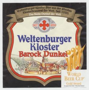 Weltenburger Kloster Barock Dunkel