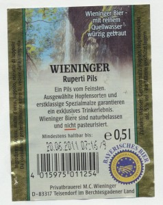 Wieninger Ruperti Pils