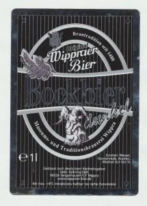 Wippraer Bockbier Dunkel