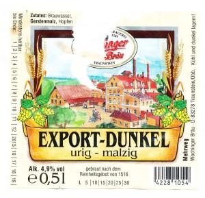 Wochinger Bräu Export Dunkel