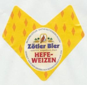 Zötler Bier Hefeweizen